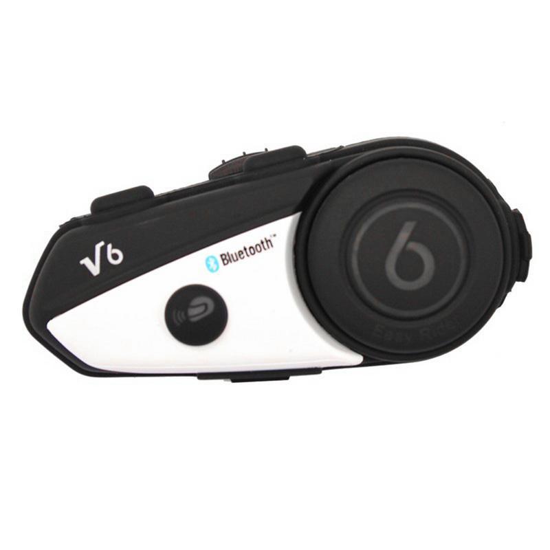 1 pièces casque moto casque Bluetooth casque sans fil systèmes de Communication casque sans fil interphone casque Bluetooth