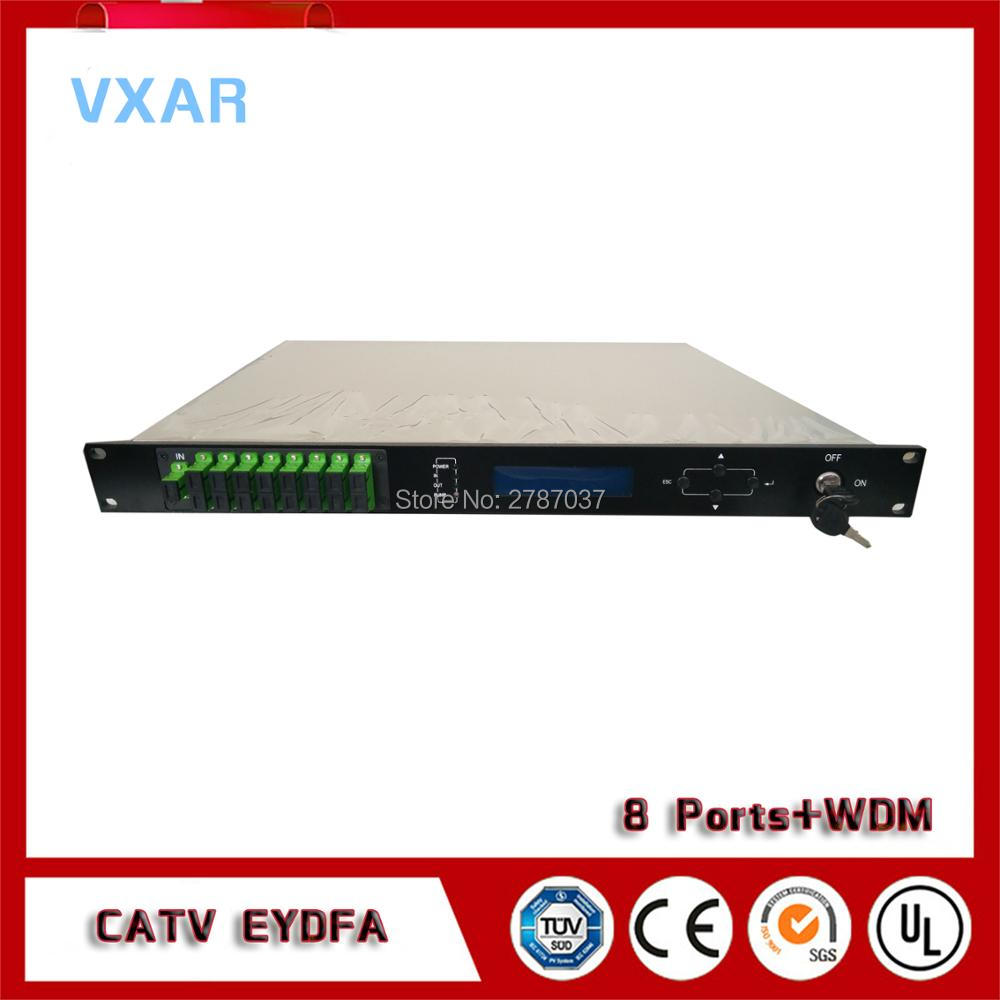 Ftth CATV EDFA optik 8 pon WDM/Fiber optik ampiferFtth CATV EDFA optik 8 pon WDM/Fiber optik ampifer