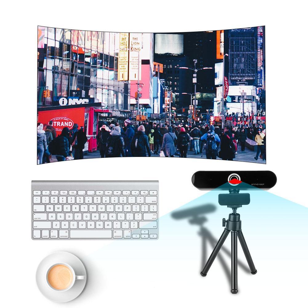 1080 P HD En Direct Caméra Mini USB 2.0 Webcam Enregistrement Streaming MJPEG/YUV2 UVC