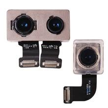 1 個バックリアビッグカメラモジュールカメラモジュールフレックスケーブルリボン iphone 7 グラム 7 プラス交換部品