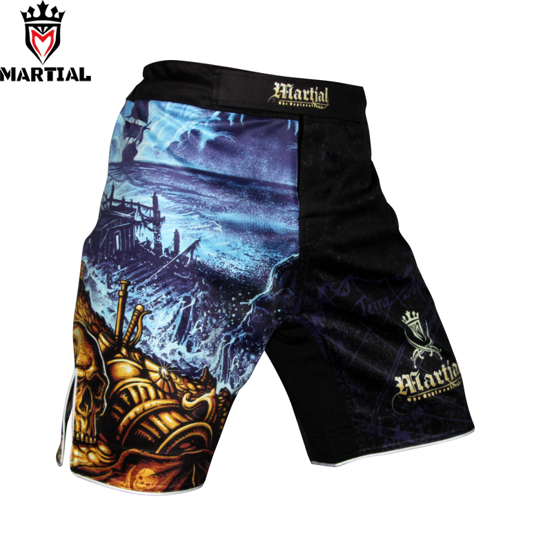 Martial original design EXPLOARTION 2 printed Cheap MMA fight SHORTS combat boxing shorts mma fighting shorts