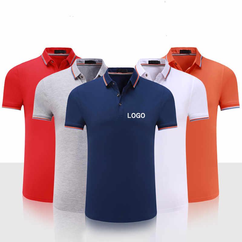 0d7103efb dropship custom logo uniform polo shirt embroidery logo wok wear digital  printing clothing