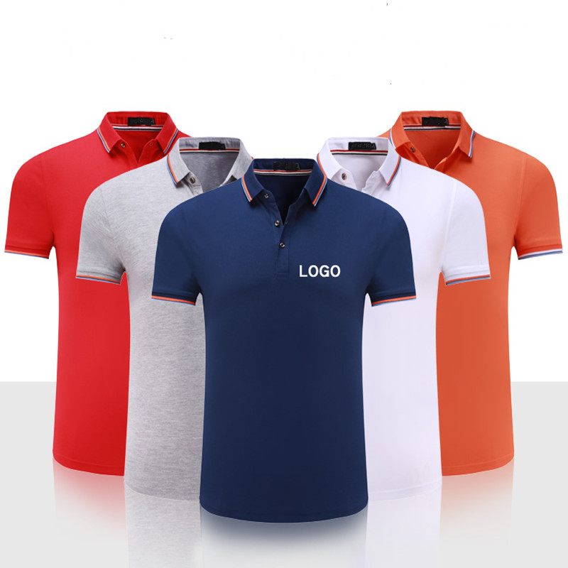 dropship custom logo uniform   polo   shirt embroidery logo wok wear digital printing clothing