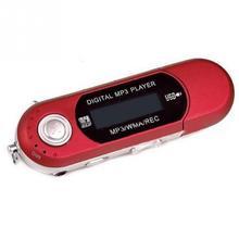 Kleine MP3 Spelers auto USB 2.0 Flash Drive Memory Stick LCD Mini Sport MP3 Muziekspeler aaa FM Radio Auto gift radio met flash