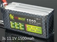 Львиная мощность 11,1 В 1500 мАч 35C т/Remote пульт дистанционного управления модель самолета производителей литий-полимерный аккумулятор 11,1 В литий-полимерный аккумулятор 3 s