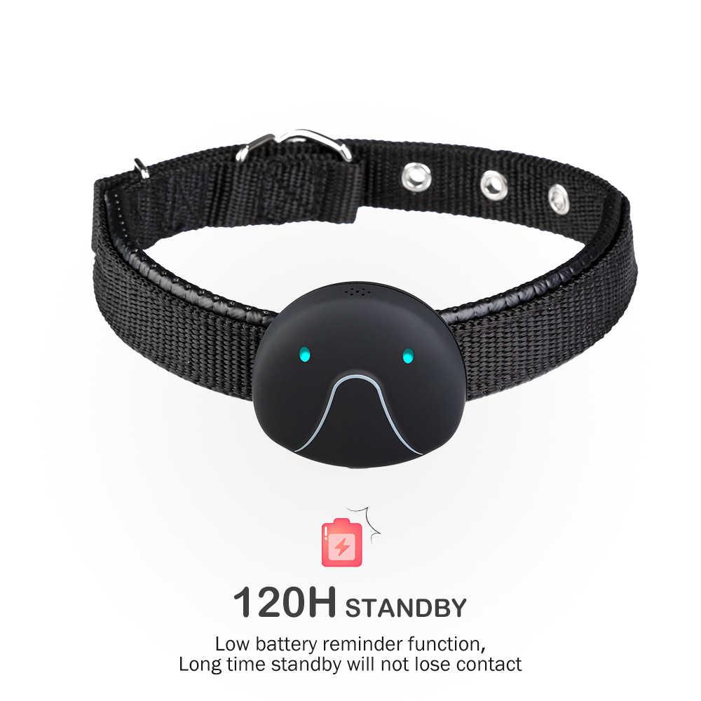 Новый протектор для экрана сенсорного собачий ошейник с GPS трекер для собак кошек активности монитор PI967 Водонепроницаемый анти-потерянный воротник 120 часов в режиме ожидания зарядка через usb воротник