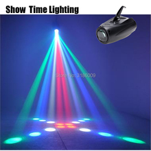 SHOW TIME LED russia diamonds airship Moon flower light entertainment DJ party Disco Auto Sound Model work Carton Building block