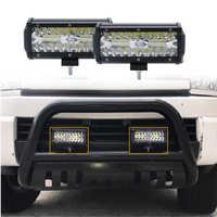 7 zoll 120W Combo Led Licht Bars Spot Flut Strahl für Arbeit Fahren Offroad Traktor Lkw 4x4 SUV ATV 12V 24V