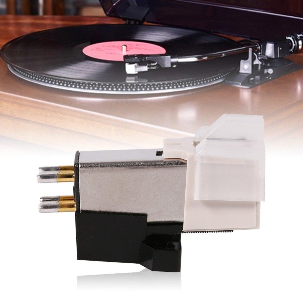 Magnetische Patrone Stylus Aluminium Lp Vinyl Record Player Nadel Für Phonographen Plattenspieler Tocadiscos Tocadiscos De Vinilo Einfach Und Leicht Zu Handhaben Tragbares Audio & Video