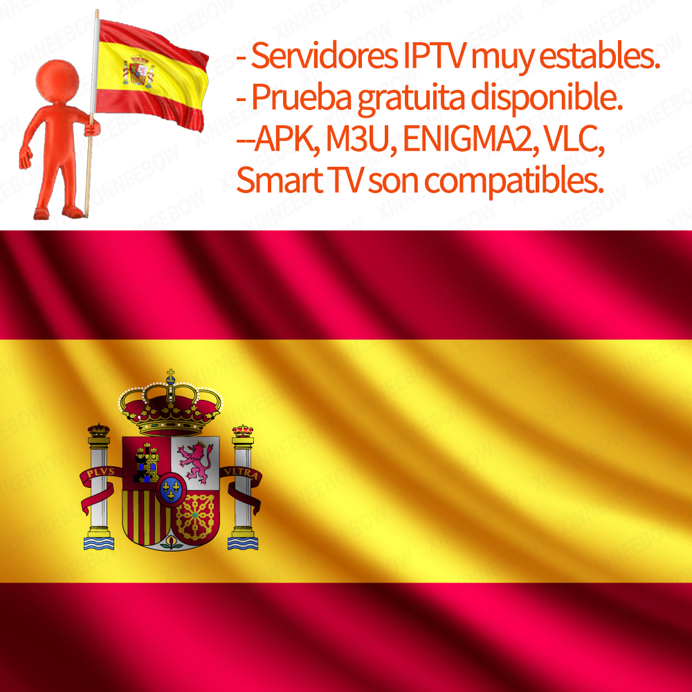 Stable IPTV Tv-Box Spain Portugal Subscription Smart-Tv Hot-Channels Best Android