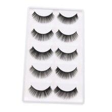 ed8bf317322 5 Pairs Plastic Thick False Doll Eyelashes For Blythe Doll Eye Makeup  Black(China)