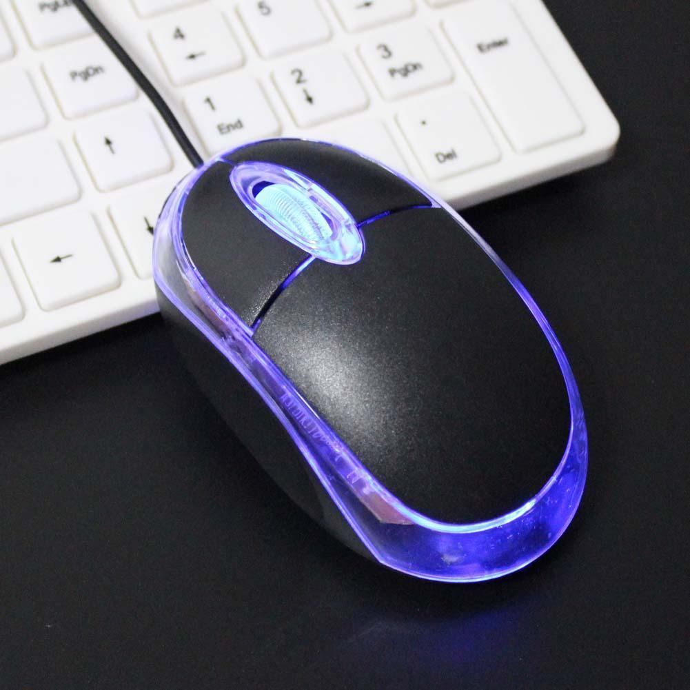 2019 3D 800 DPI LED USB 2 Mini Optical Mouse For Laptop Notebook Computer PC Mice