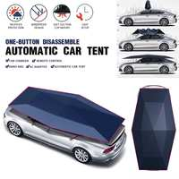 Portable Car Automatic Cover Tent Remote Control Waterproof Auto Car Covers Umbrella Folding Roof Sunshade Sun UV Protection