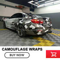 Arctic Camo Vinyl Car Wrap Military Black White Grey Camouflage Film Jungle Car Motocycle Outboard Decal Sticker