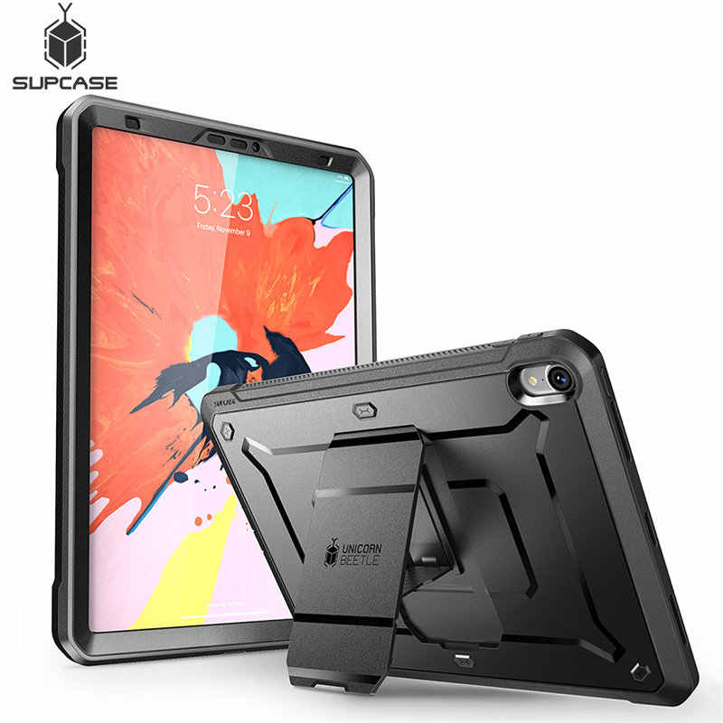 For iPad Pro 11 Case SUPCASE UB PRO Full-body Rugged Cover with Built-in Screen Protector&Kickstand,Not Compatible Apple Pencil