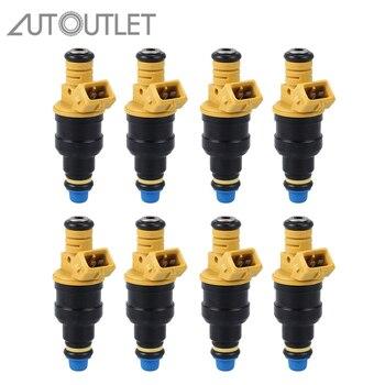 AUTOUTLET 8 Pcs/set 215cc Fuel Injectors 0280150943 0280150718 Repair Kits for Ford F150 F250 F350 93-03 5.0 5.8 4.6 5.4
