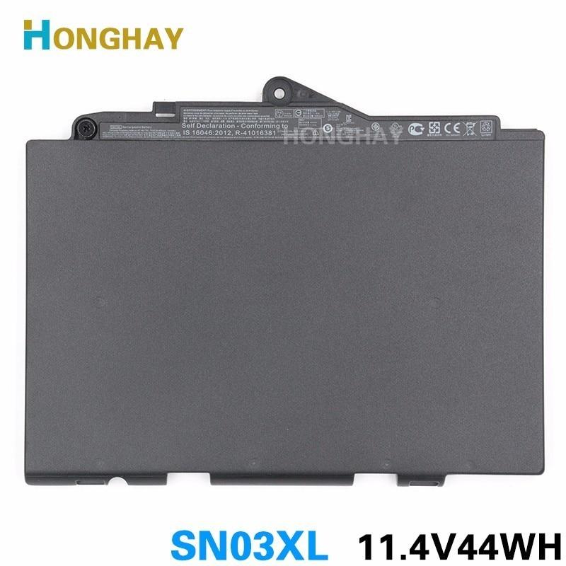 Bateria do Portátil para hp Honghay Original Elitebook 820 g3 725 800514-001n Hstnn-ub6t Tablet Sn03xl 11.1v 44wh