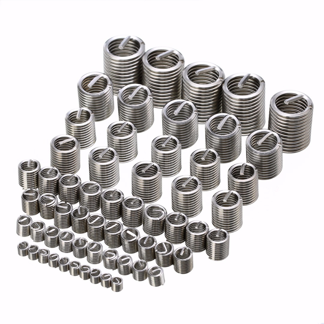 Stainless Steel Helicoil Fastener Accessories Threaded Insert Repair Tool