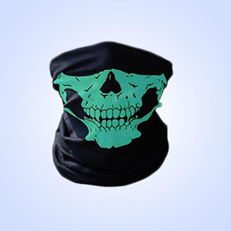 1 шт. для женщин мужчин велосипед Мотоцикл Череп Бандана Шарф средства ухода за кожей шеи маска-шлем для лица