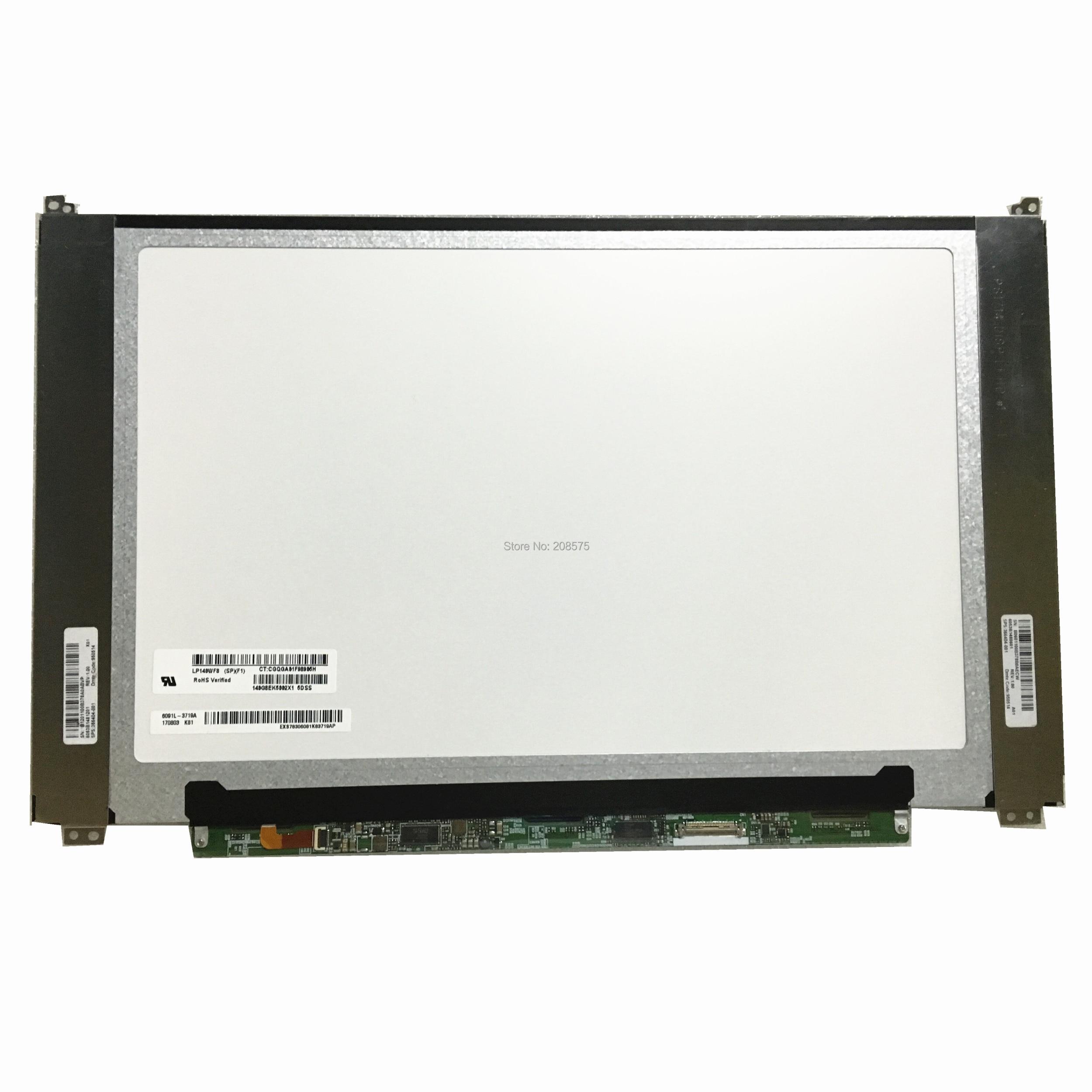 Free shipping LP140WF8-SPF1 LP140WF8 SPF1 LP140WF8-SPQ1 LP140WF8-SPR1 SPR9 SPP1 Laptop Lcd Screen Panel 1920*1080 30 pinsFree shipping LP140WF8-SPF1 LP140WF8 SPF1 LP140WF8-SPQ1 LP140WF8-SPR1 SPR9 SPP1 Laptop Lcd Screen Panel 1920*1080 30 pins