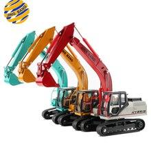 JINGBANG 1:50 Масштаб сплав экскаватор Игрушечная модель грузовика трек Navvy строительная техника Грузовики Модели детские игрушки для детей