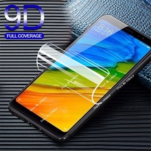 9D Screen Protector Protective Film For Xiaomi Mi 9 9SE Mix 3 2s Strengthen Hydrogel Film for Redmi 7 5A 5 Note 5 7 Pro Cover HD 2pcs pack good hd screen protector for apple new 2017 ipad 9 7 pro 9 7 air 1 2 protective film cover alcohol bag rag