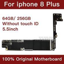 Scheda madre 64gb 256gb Senza Touch ID 100% sbloccato Originale per iphone 8 Più Scheda Logica Mainboard Con IOS di Sistema