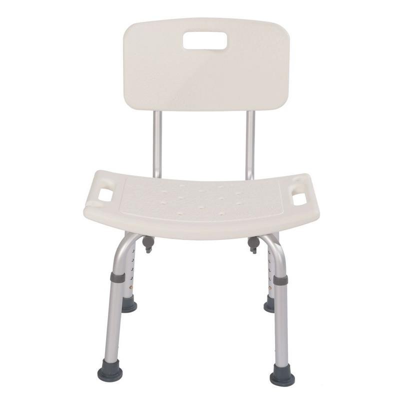Lightweight Aluminum Alloy Bath Chair Heavy-duty Old People Backrest Bath Chair For Disabled People US Shipping Dropshipping