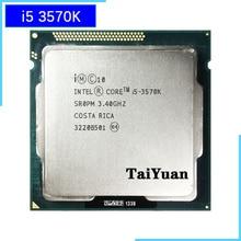 インテルコア i5 3570K i5 3570 18k 3.4 1.2ghz のクアッドコア cpu プロセッサ 6 メートル 77 ワット lga 1155
