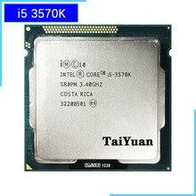 معالج وحدة المعالجة المركزية إنتل كور i5 3570K i5 3570K 3.4 GHz رباعي النواة 6M 77W LGA 1155