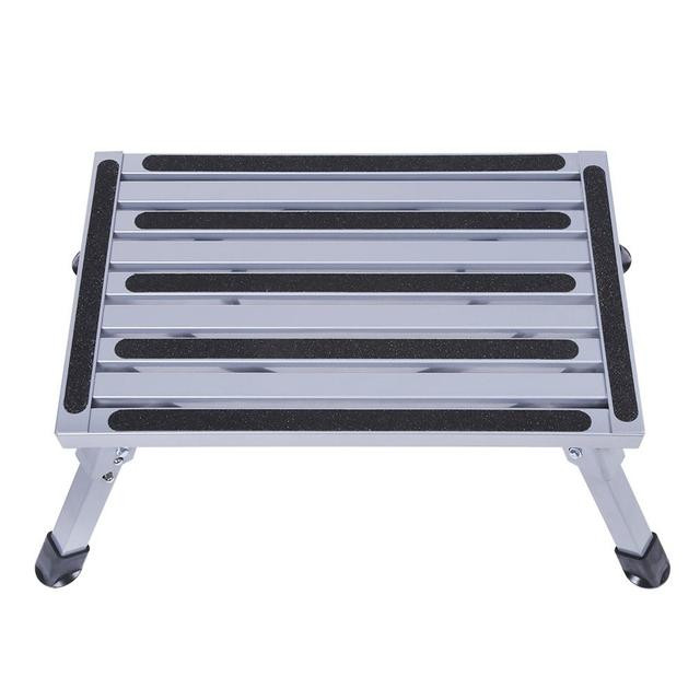 Portable Folding Aluminium Platform Safety Step Ladder Stool Caravan Camping Accessories