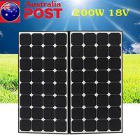 Складная Гибкая солнечная панель 100 Вт 200 Вт 18 в солнечное зарядное устройство для кемпинга 12 В Автомобильное зарядное устройство 200 Вт моно