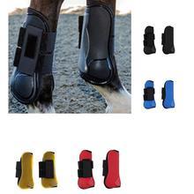 Лошадь передняя нога протектор мягкие леггинсы PU+ дайвинг материал Защита ног для лошади Спорт на открытом воздухе игры