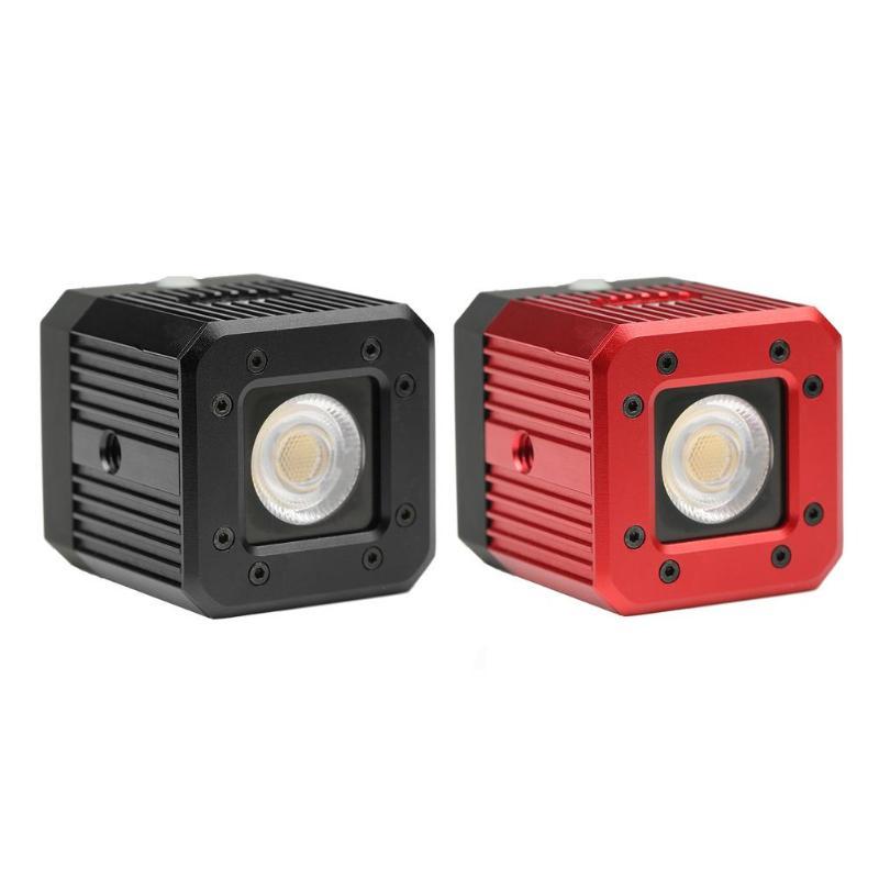 Étanche 20 m/65ft plongée LED lumière de remplissage 3200 K-5600 K Stepless Dimmable caméra vidéo lampe de lumière pour Film de mariage