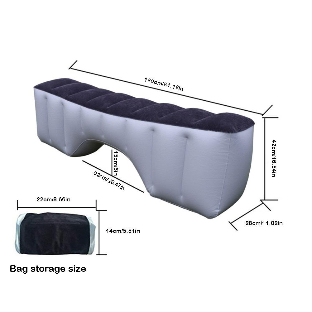 Car Air Mattress Gap Pad Car Back Seat Car Mattress Inflatable Back Seat Gap Pad Air Bed Cushion for Car Travel Camping