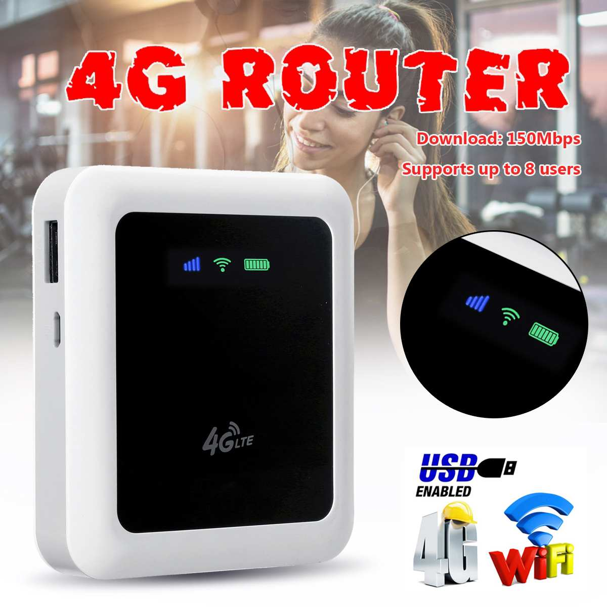 Worldwide delivery 4g modem router with sim card in NaBaRa Online