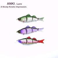 ANKI 127 мм 26,5 г Япония 4 секционные соединения жесткая рыболовная приманка воблер пре spawn bass