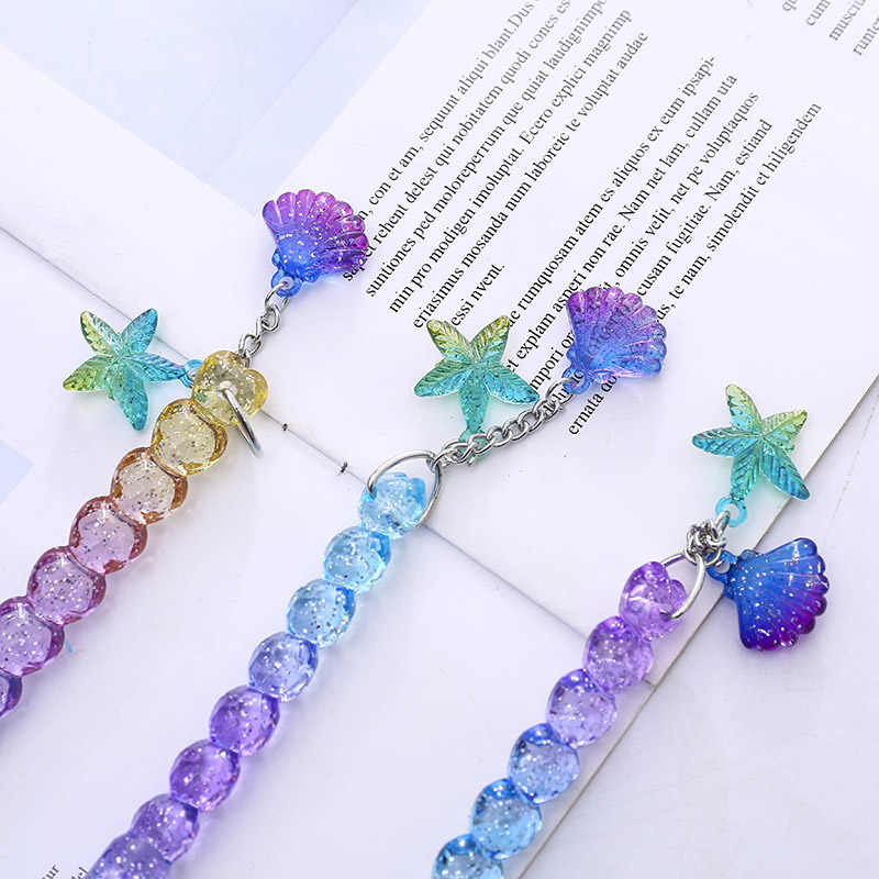 Creative Shell Neutral Pens Cute Gel Pens 0.5mm Kawaii Pendant Pens For Kids Girls Writing School Office Supplies Stationery