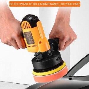Image 3 - KKmoon 700W araba parlatıcı değirmeni Mini parlatma makinesi otomatik zımpara makinesi yörünge değişken hız ağda parlatici güç araçları