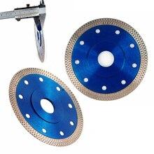 1 adet 4.5 inç elmas disk 1.2mm süper ince elmas kesim disk testere bırakın seramik porselen karolar granit mermer testere bıçağı