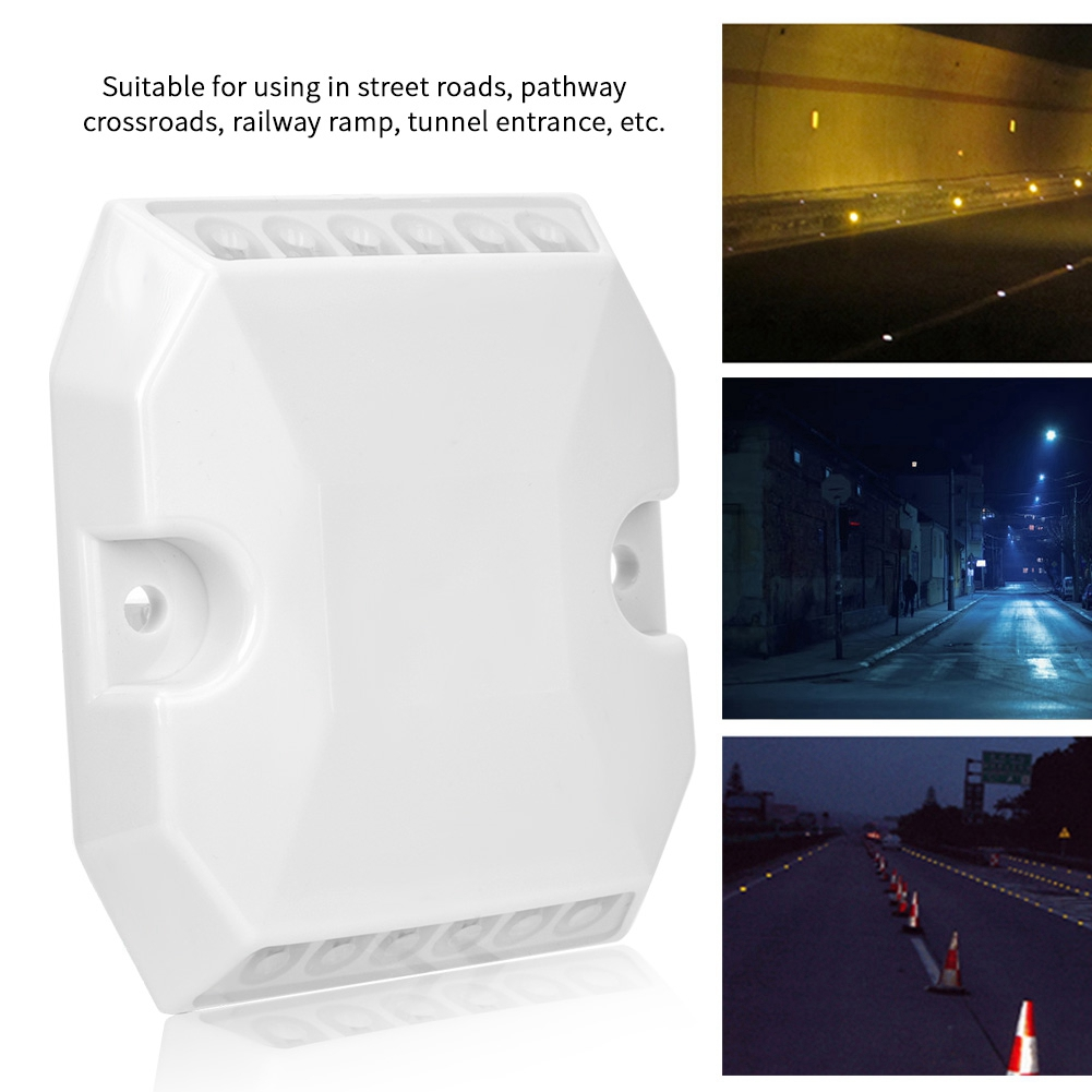 Security & Protection Roadway Safety Gentle Led Reflective Spike Plastic Beads Dual Protuberant Signpost Reflective Spike Raised Signs High Quality To Adopt Advanced Technology