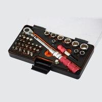 """Wysokiej jakości Mini zestaw kluczy dynamometrycznych 1 10NM 1/4 """"DR Bike zestaw narzędziowy do naprawy rowerów ratchet mechaniczny klucz dynamometryczny instrukcja w Klucze od Narzędzia na"""
