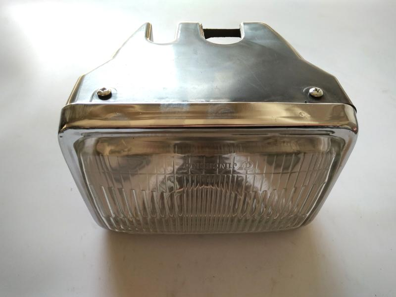 Free Shipping New Motorcycle Square Size AX100 Front Headlight Lamp For Suzuki 100cc AX 100 Head Light Lamp Parts