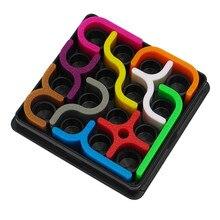 """Сумасшедшие кривые креативные игрушки-головоломки для детей раннего образования развивают магический интеллект логическая игра """"Забавные игрушки"""" E31"""