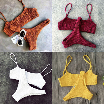 Meihuida Bikinis 2019 Mujer Women Swimwear Women Push-up Padded Bra Bandage Bikini Set Sexy Swimsuit e Swimwear Bathing 4
