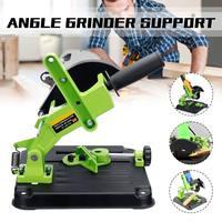 Angle Grinder Stand Angle Grinder Bracket Holder Support For Cutter Angle Grinder Cast Iron Base Power Tool Green Black