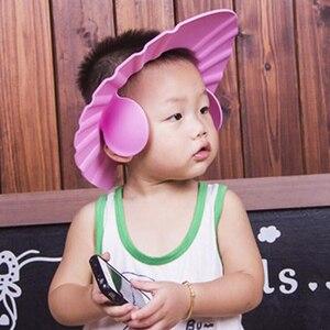 Модный детский шампунь для ванной, шапочка для душа, козырек для мытья волос, защитная шапка с чехлом для ушей, Товары для ванной, 2019