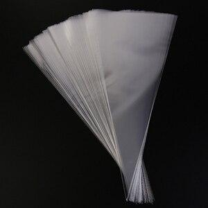 Image 1 - 50 pces claro saco de embalagem de celofane doces sacos ambientalmente amigável chocolate doce pipoca saco de plástico