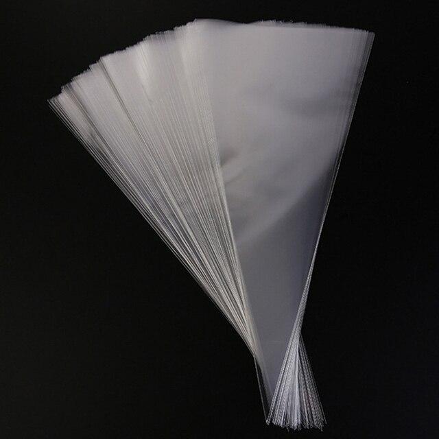 50 pces claro saco de embalagem de celofane doces sacos ambientalmente amigável chocolate doce pipoca saco de plástico