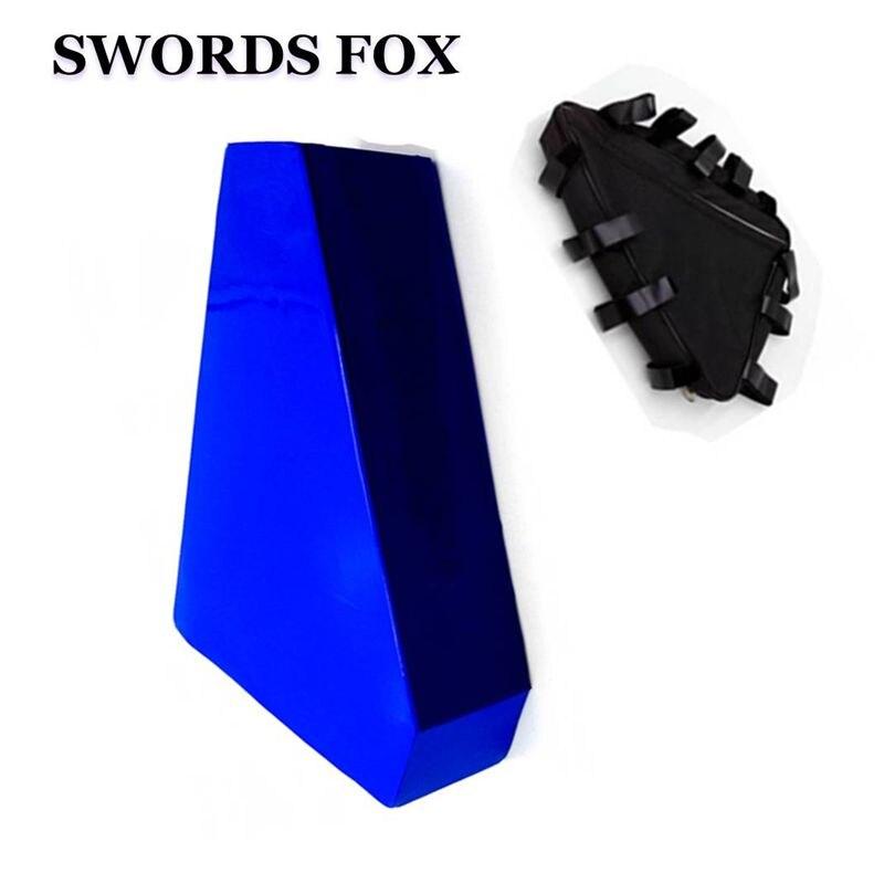 SWORDS FOX Great 36V 18AH Triangle shape BAG electric bike battery 36v 500w li ion lithium